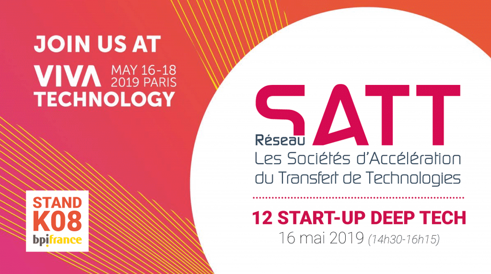 SATT Sud-Est à VivaTechnology 2019 Paris