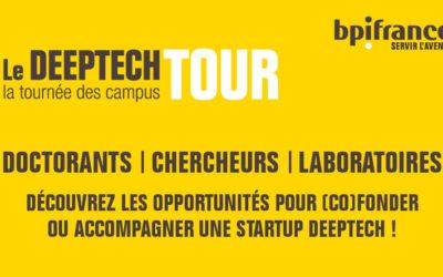 La SATT Sud-Est sera partenaire de Bpifrance lors de l'étape marseillaise du Deeptech Tour, la tournée des campus, qui se déroulera le 3 février 2020 à Marseille