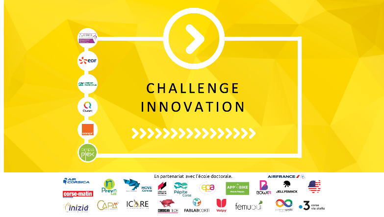 Les lauréats 2020 du Challenge Innovation « In Casa » de l'Université de Corse sont…