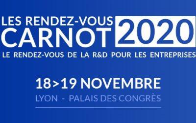 Rendez-vous Carnot 2020, au cœur de l'innovation et de la R&D