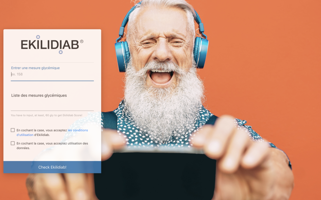 EKILIDIAB, l'algorithme qui sécurise la prise en charge du diabète des personnes âgées